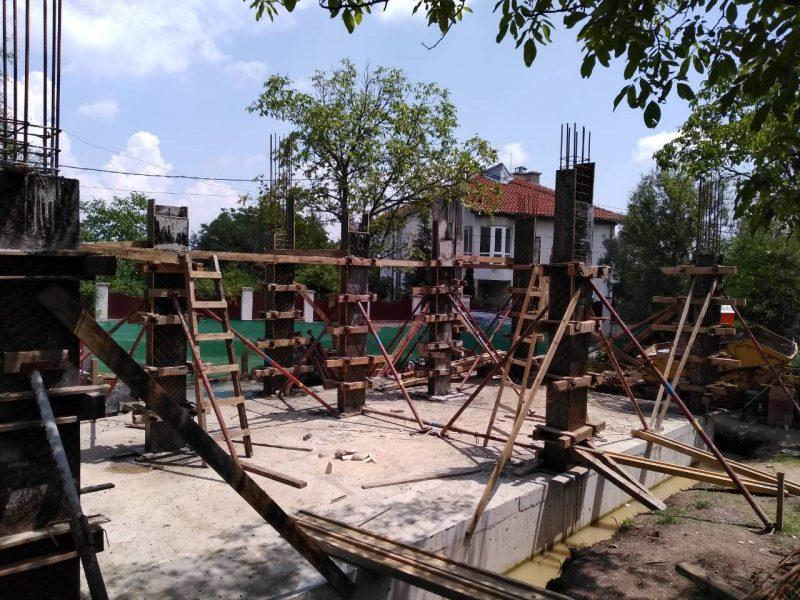 Груб строеж Къща Банкя
